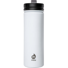 MIZU M9 Bidon with Straw Lid 900ml biały